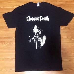 """Women's Christian Death """"Rozz"""" T-Shirt"""